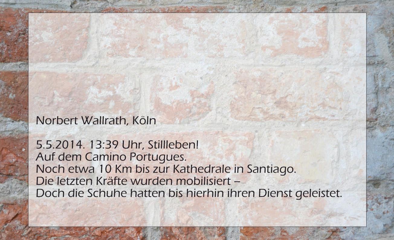 Norbert Wallrath, Stillleben