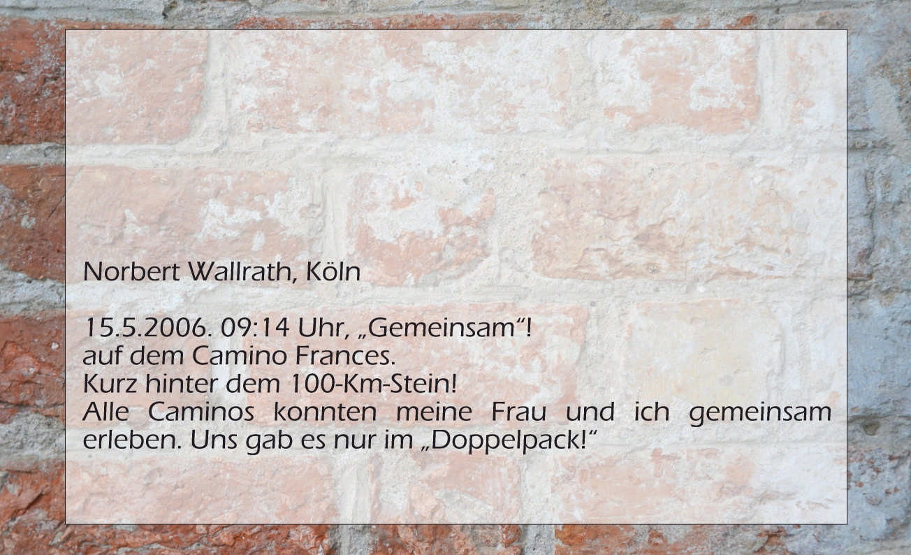 Norbert Wallrath, Doppelpack