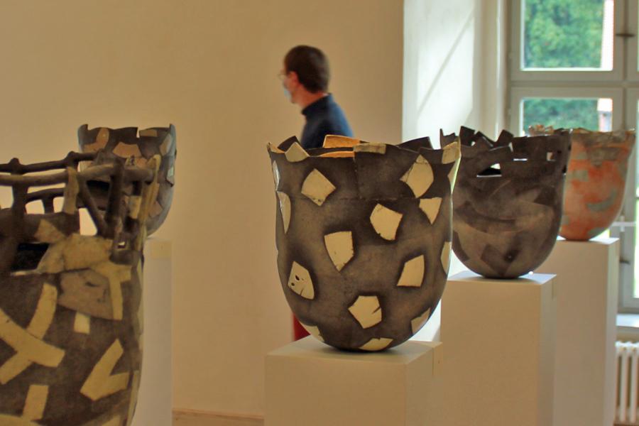 Ausstellung Ton-Räume Renée Reichenbach