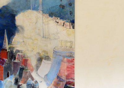 Kloster Chorin – Zeitgenössische Kunst im Infirmarium, Ausstellung Himmelsstaub von Manfred Fuchs